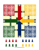 Pachisi Board